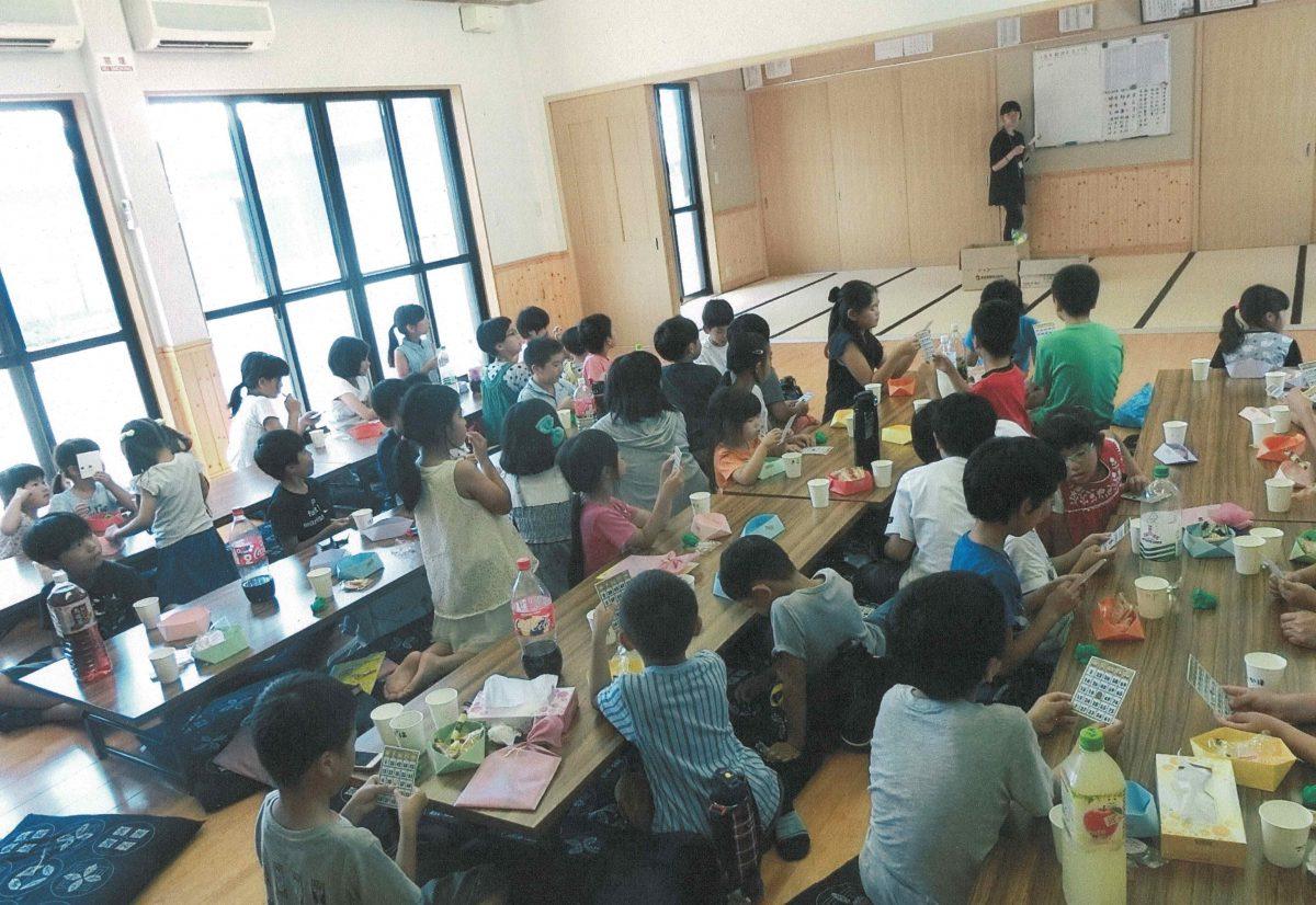 写真:地域子ども会の様子
